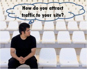 attract traffic to your site